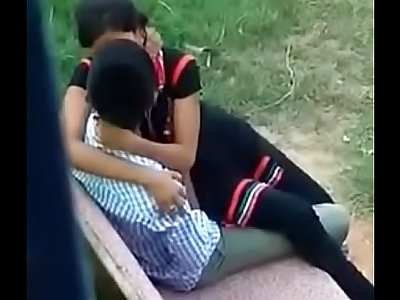 Secret sex with sister in park