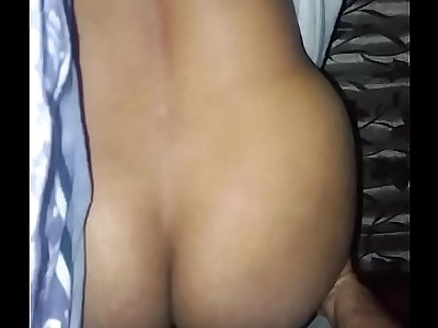Cheat Wife fuck doggy style with hubby friend